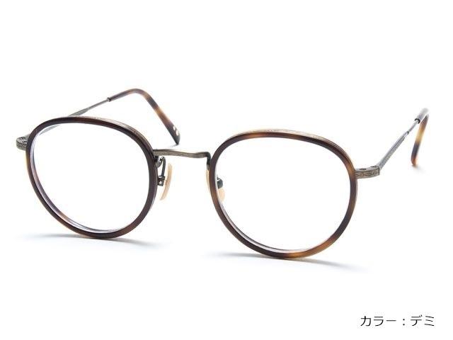 眼鏡の聖地、鯖江製のボストン・プレミアム(カラー2色)