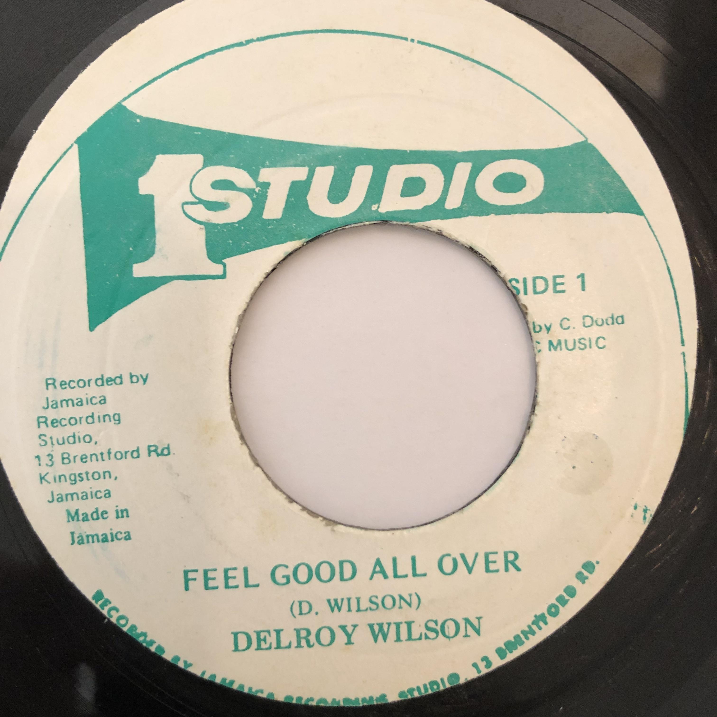 Delroy Wilson(ディロイウィルソン) - Feel Good All Over【7-20241】