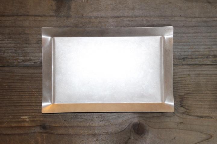 tone / トーン Square tray S(SILVER)