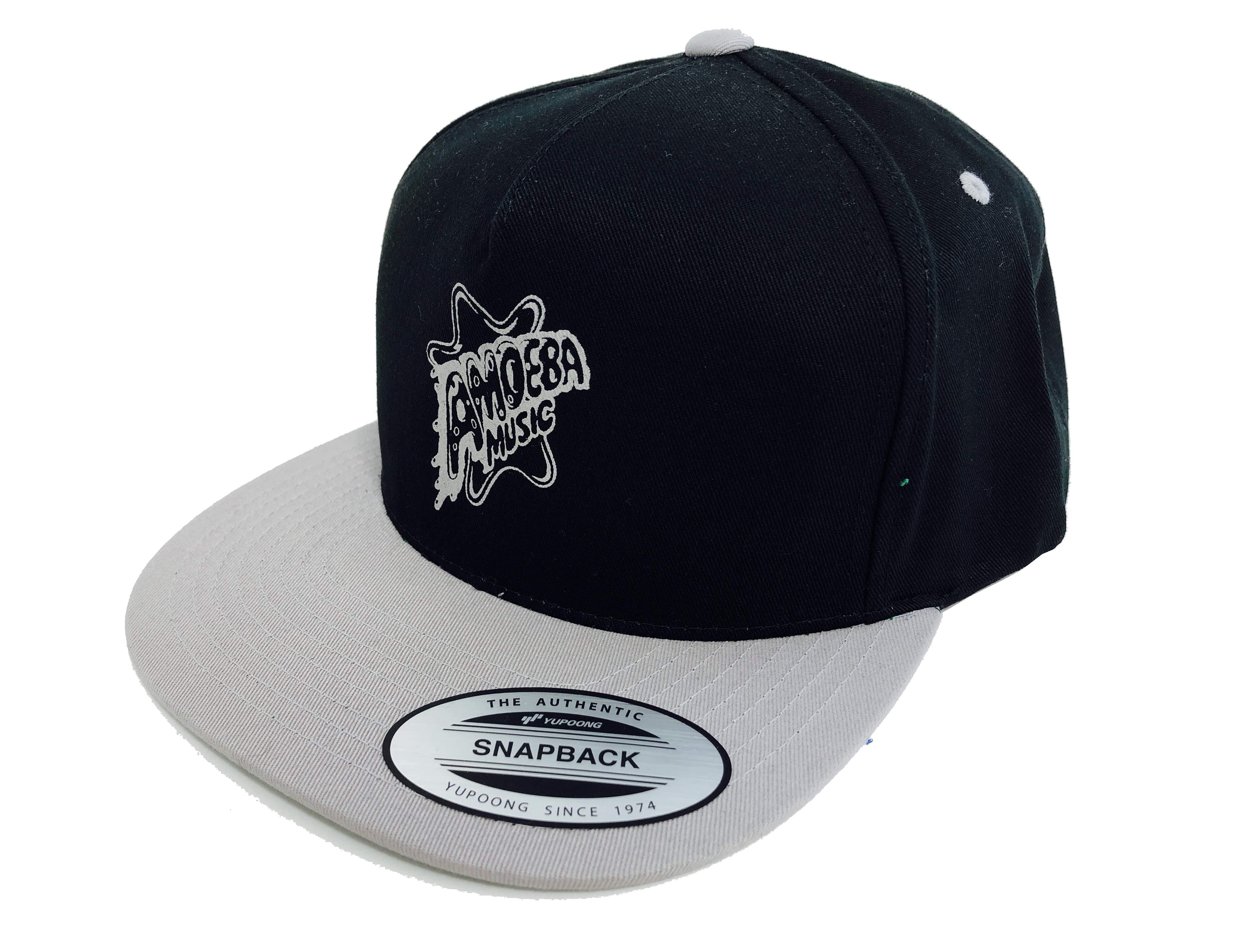 品番0127 アメーバミュージック スナップバックキャップ ブラック×グレー UV 紫外線 アメリカン雑貨 新品雑貨