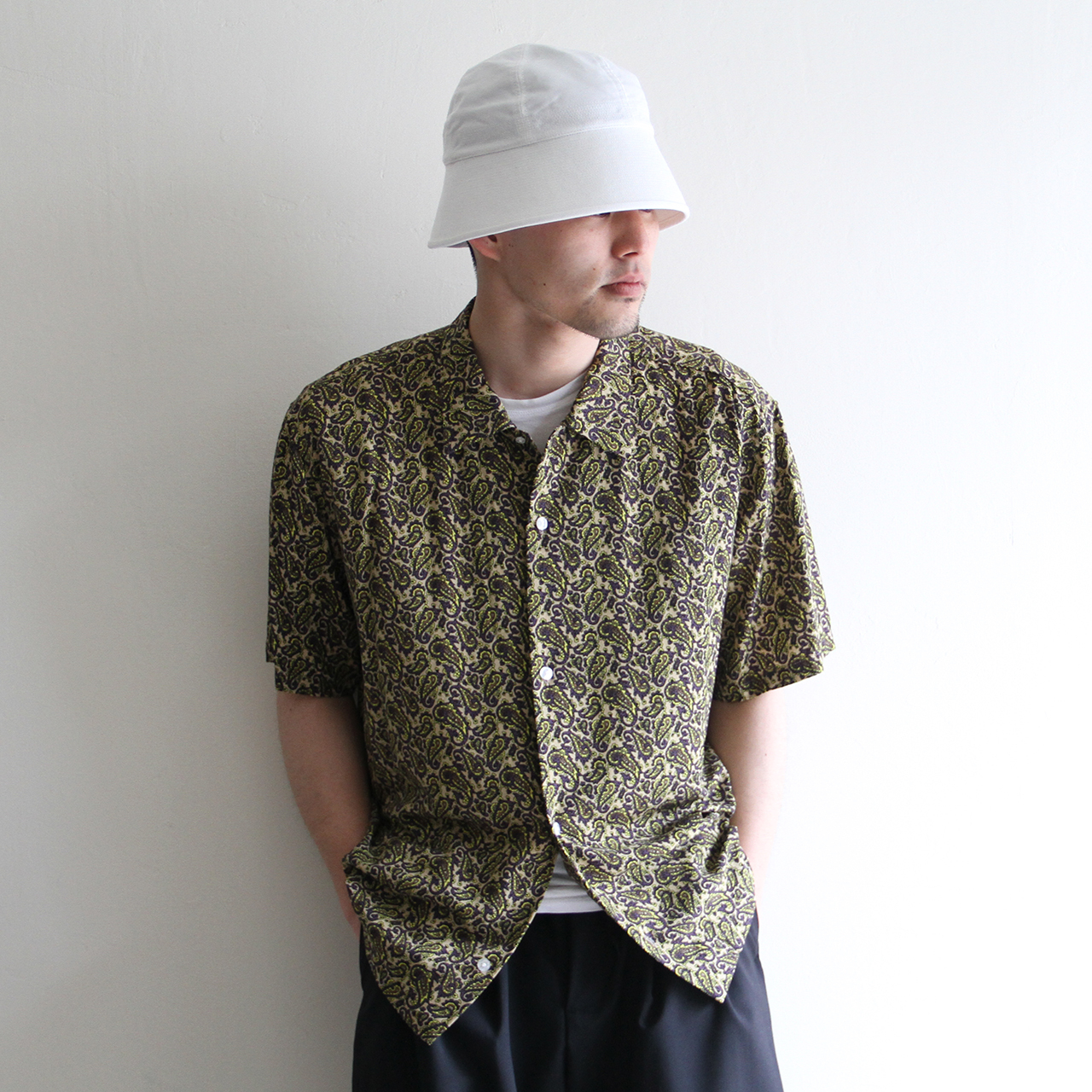STAMMBAUM【 mens 】aloha paisely