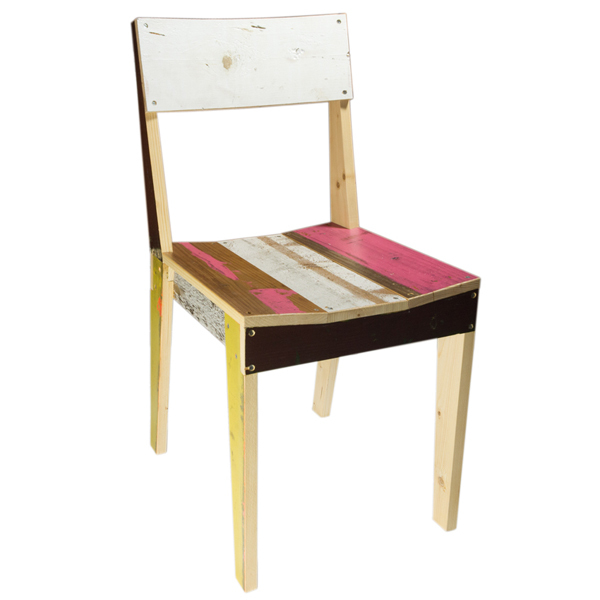 PIET HEIN EEK Scrapwood Chair