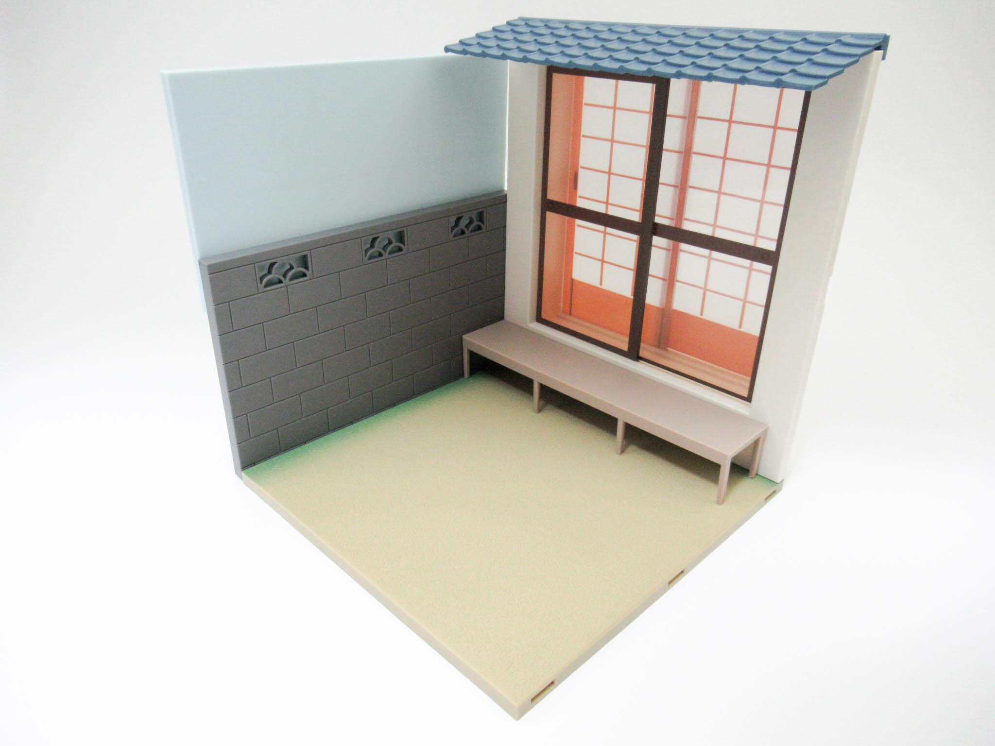 再入荷 ねんどろいどプレイセット #06 縁側Aセット 壁と床