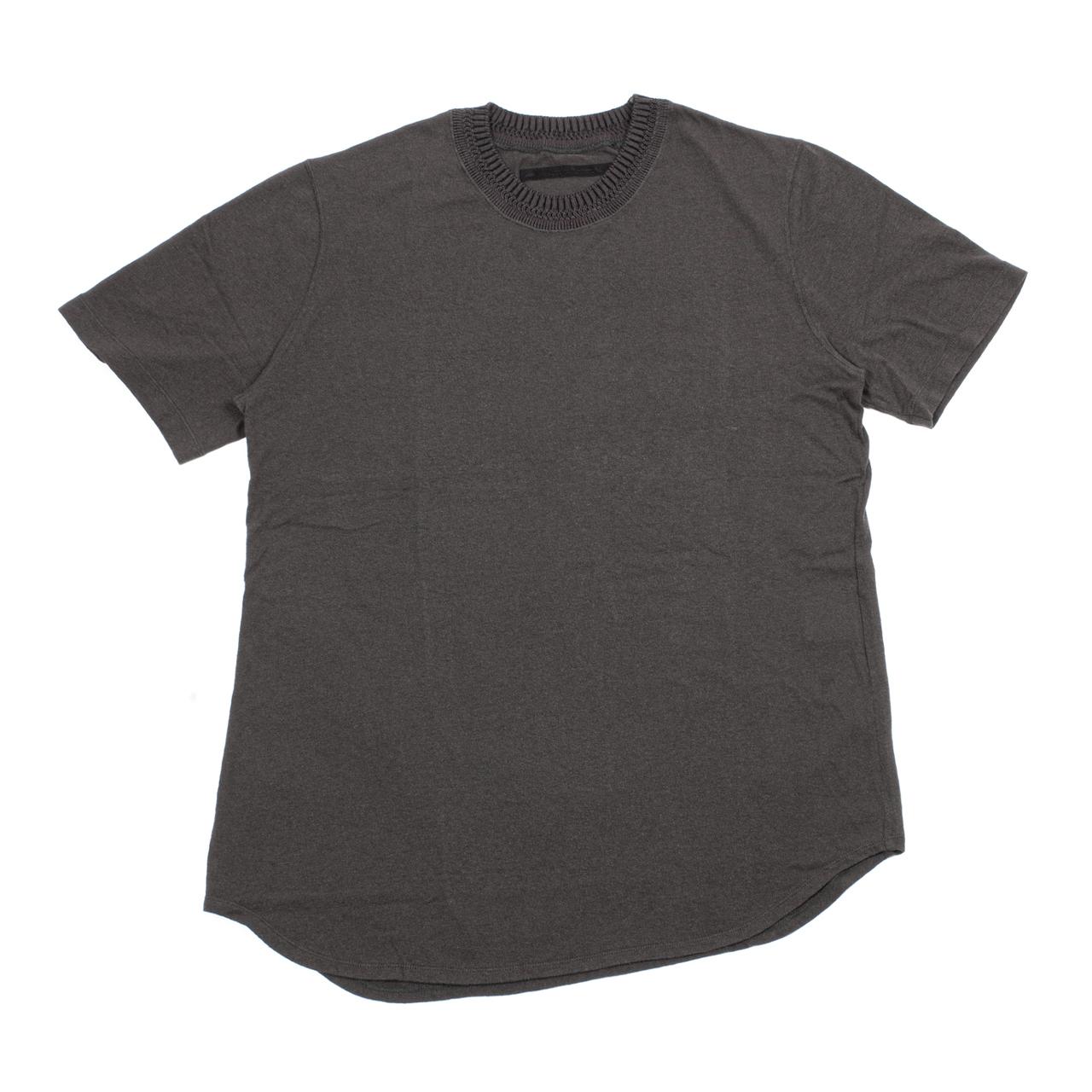 717CUM10-SLATE / ニットカラーTシャツ