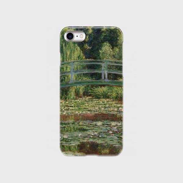 モネ「ジヴェルニーの日本の橋と睡蓮の池 1899」 スマホケース