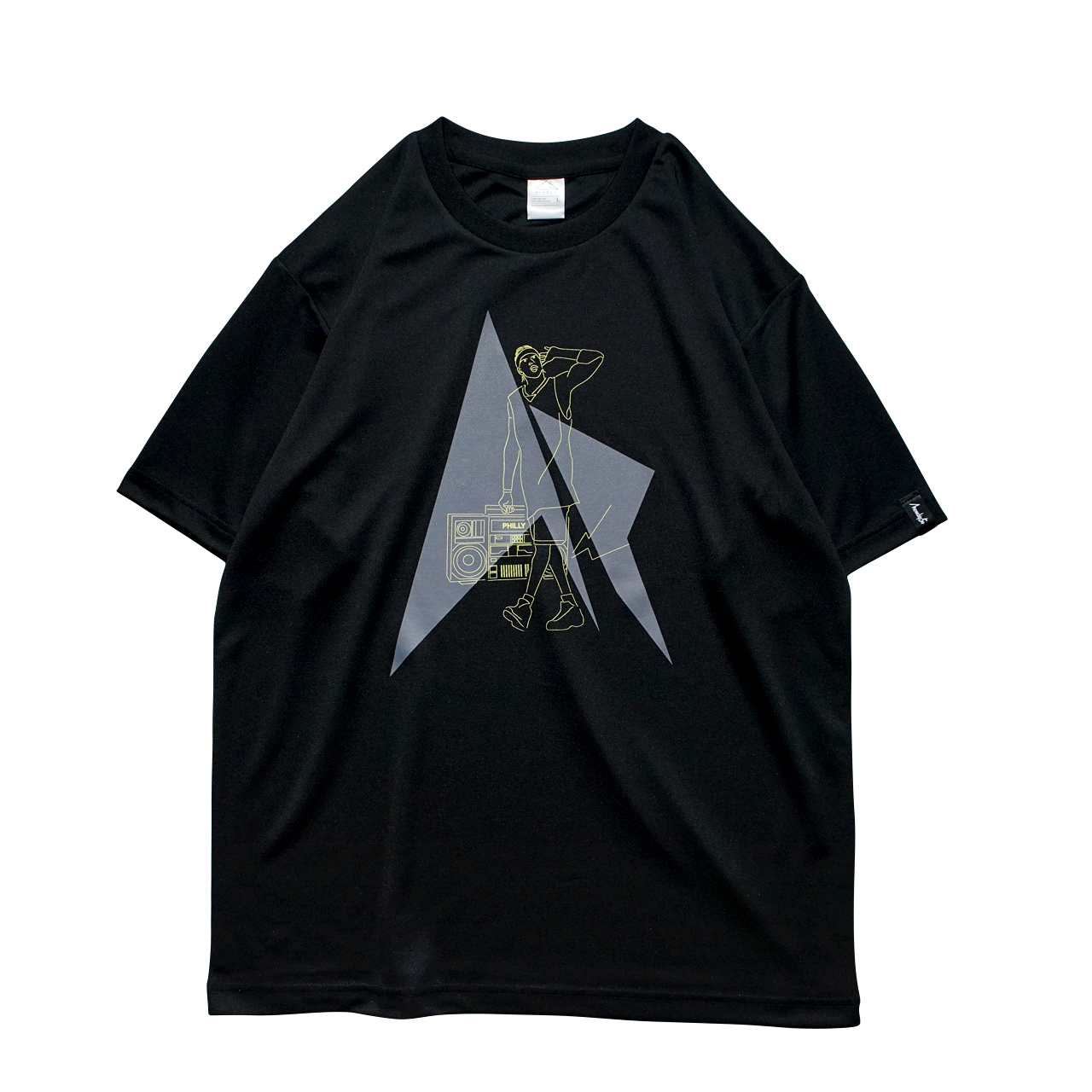 HipHop Philly S/S PL <Black×F.Yellow×D.Gray> - 画像1