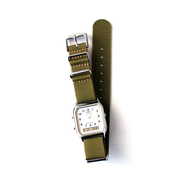 CASIO BASIC WATCH DIGI-ANA 04 / NATO-type Strap