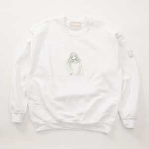 FUSEMACO CREWNECK SWEAT - WHITE