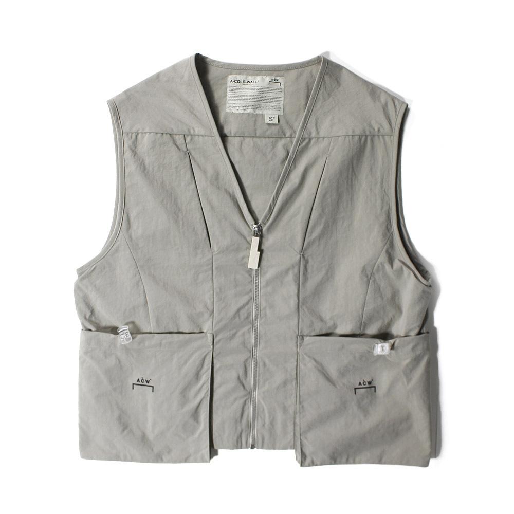 A COLD WALL Pocket Vest Khaki