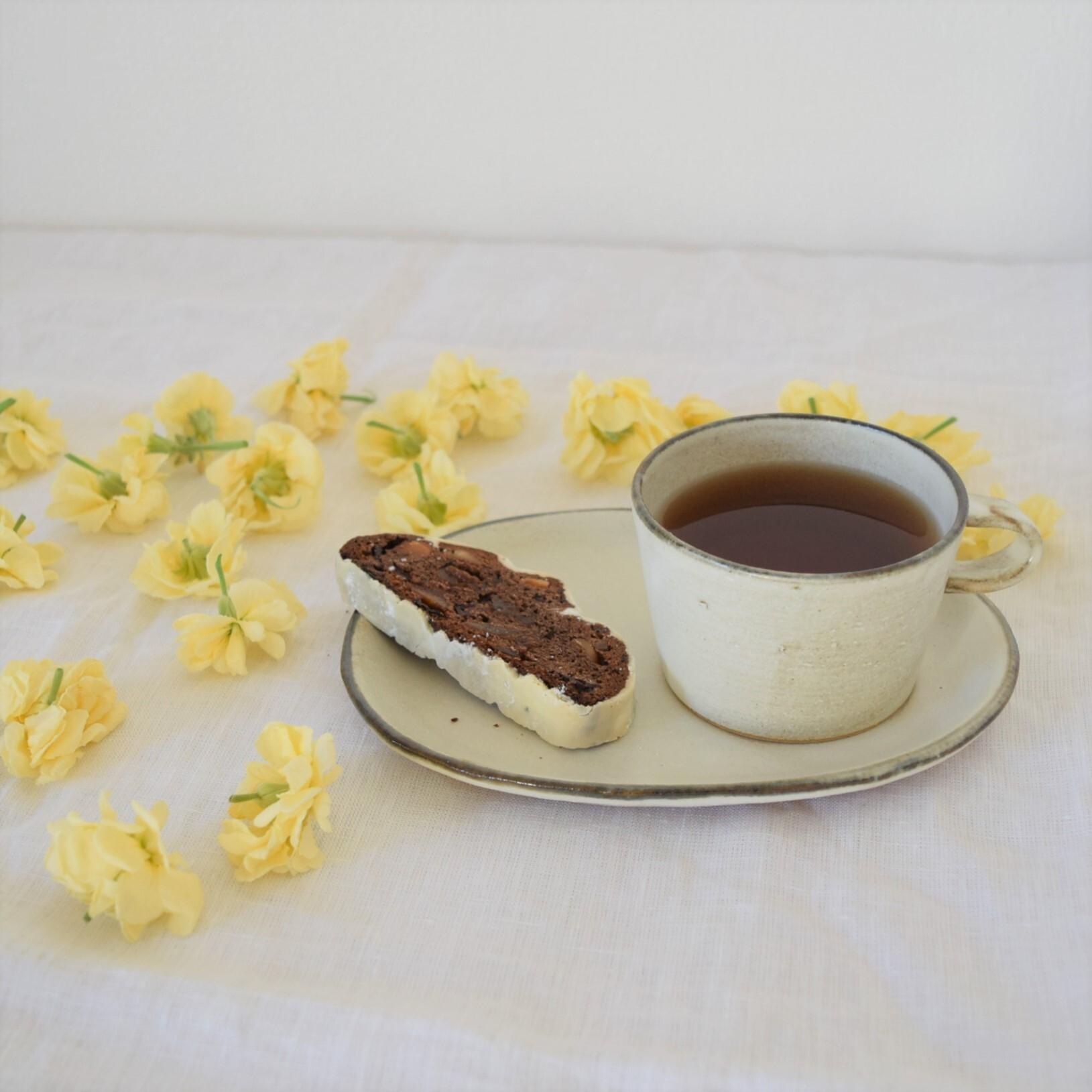 【studio m'】お茶とおやつ皿のスペシャルセット_A
