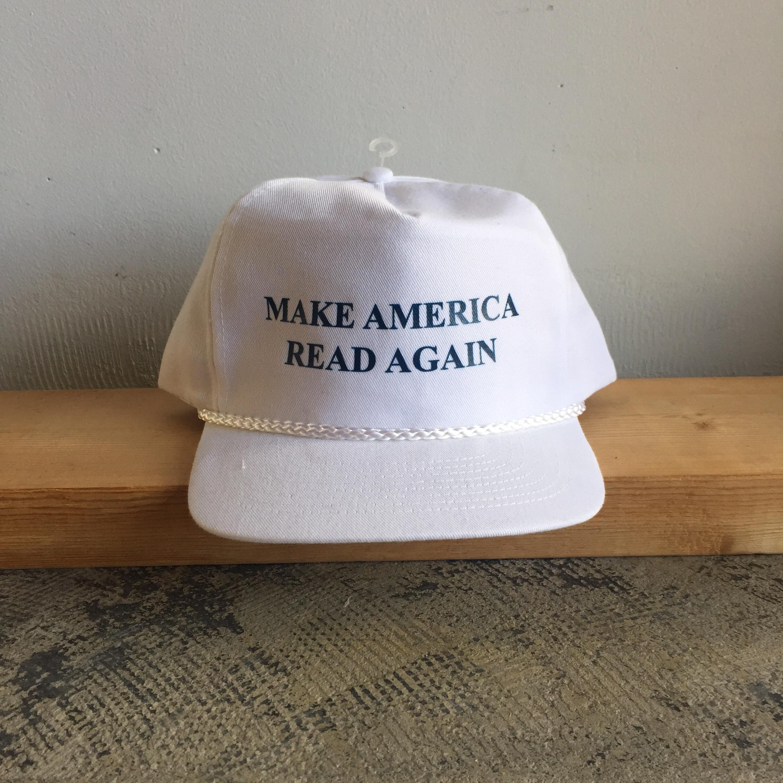 Strand Book Make America Read Again Cap