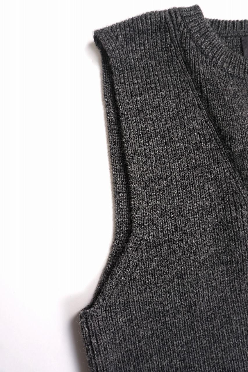 Hand Framed Knitted Vest