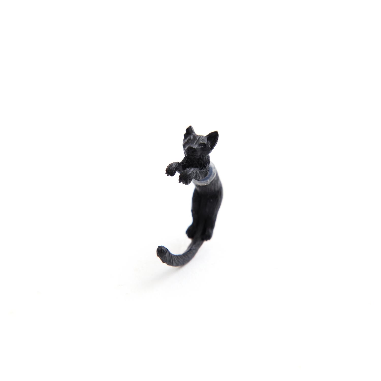 simmon/Cat Body Pierce_Black(片耳)