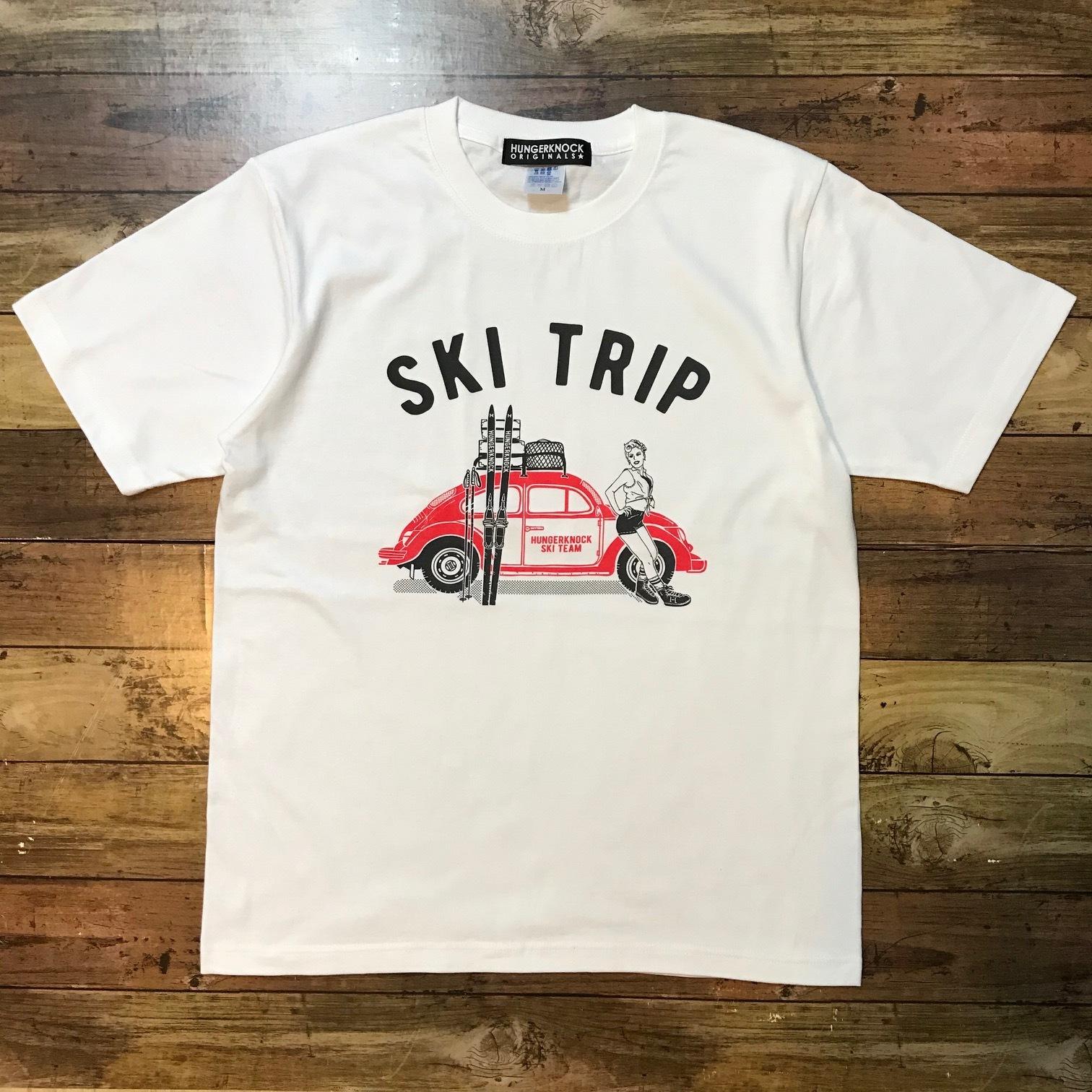 SKITRIP Tee / White