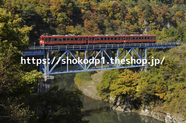会津鉄道AT-750形と橋_DSC2924