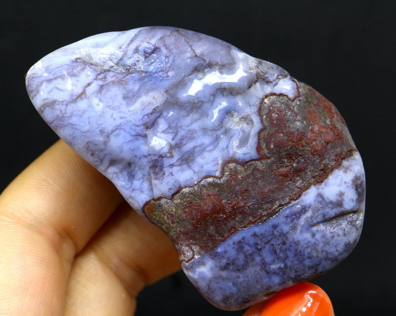 レア!ビューロクリークアゲート アリゾナ州産 瑪瑙 原石 64,3g BCA003 天然石 鉱物 パワーストーン