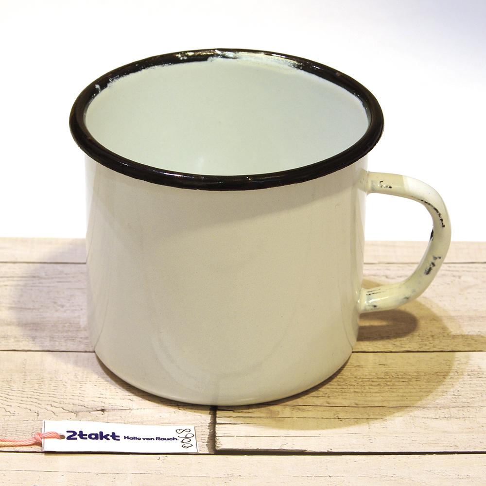 【Vintage品】ソビエト製デッドストック ホーローマグカップ/0068