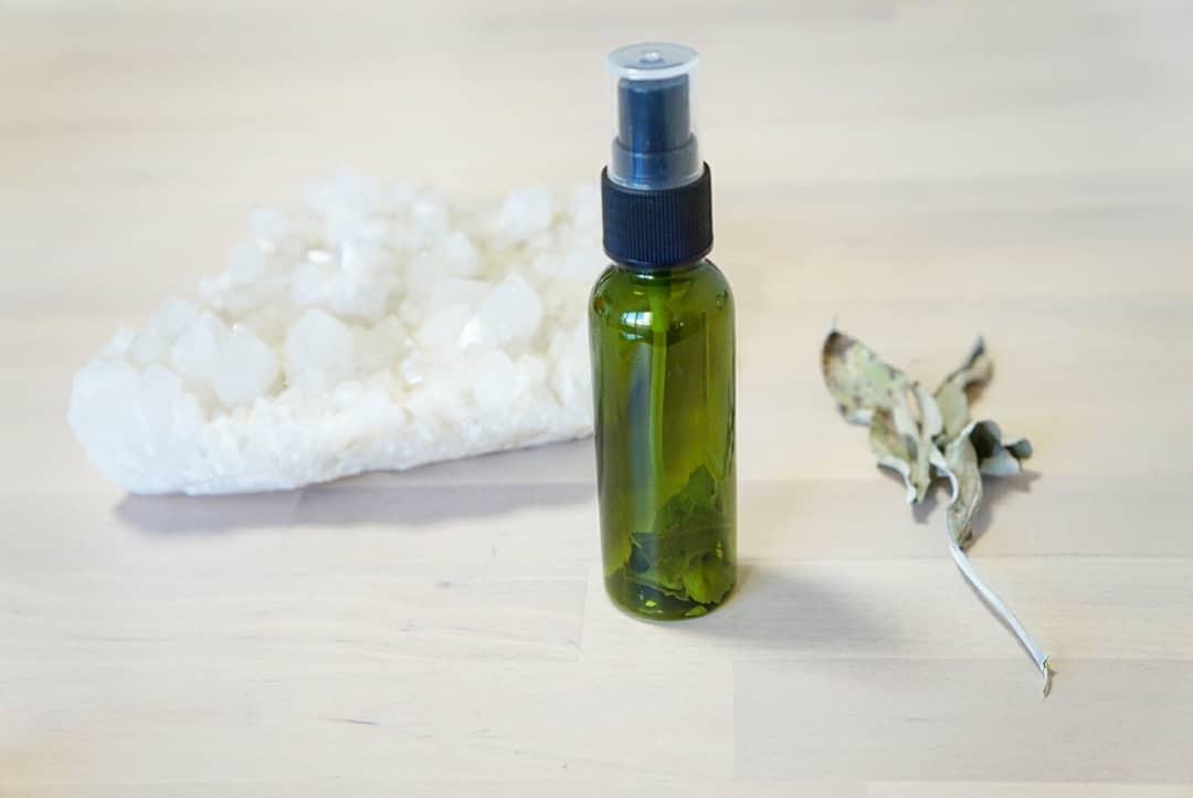 無農薬ホワイトセージ 浄化スプレー  50ml パワーストーン、部屋の浄化におすすめ