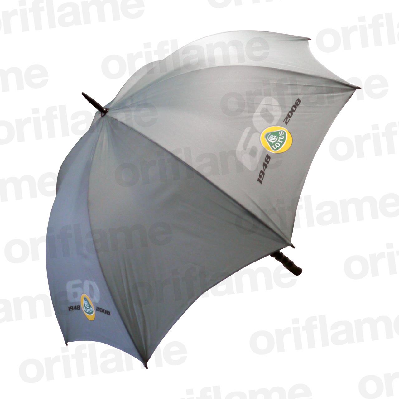 傘・ロータス・60周年記念・プラスチックグリップ・グレー