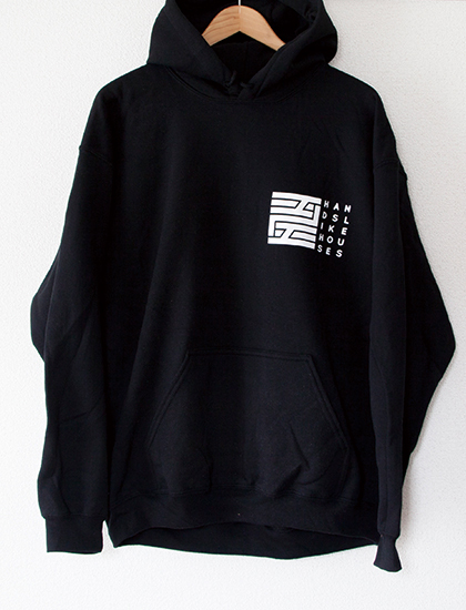 【HANDS LIKE HOUSES】Dissonants Logo Hoodie (Black)