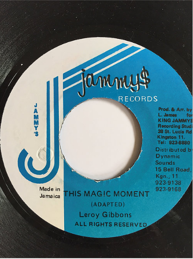 Leroy Gibbons(リロイギボンズ) - Magic Moment 【7inch】