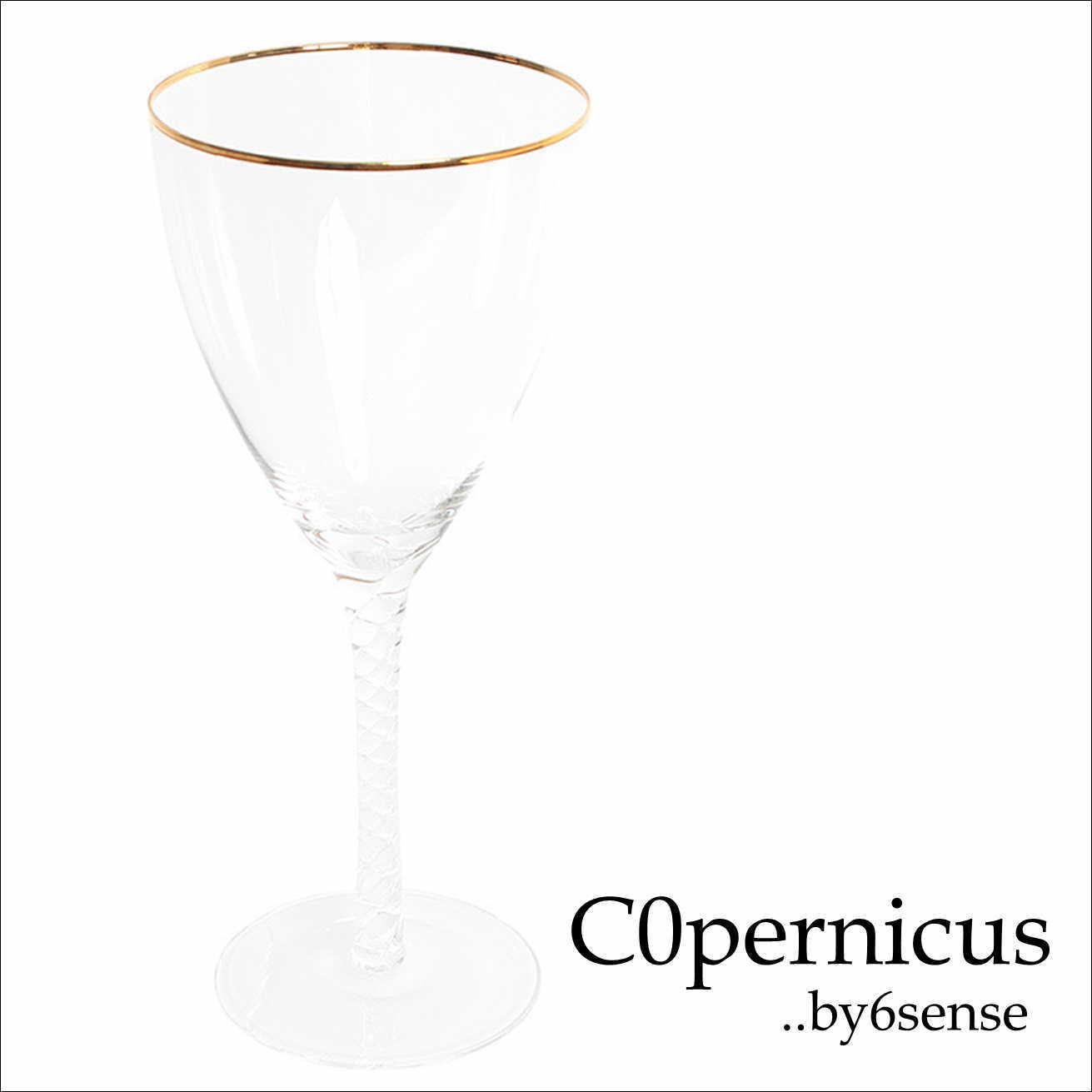 Wineglass ワイングラス Goldline 浜松雑貨屋 C0pernicus
