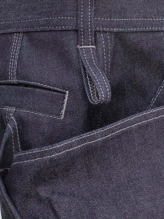 TROVE x 岡部文彦 / BIG POCKET SHORTS ( DENIM ) / INDIGO