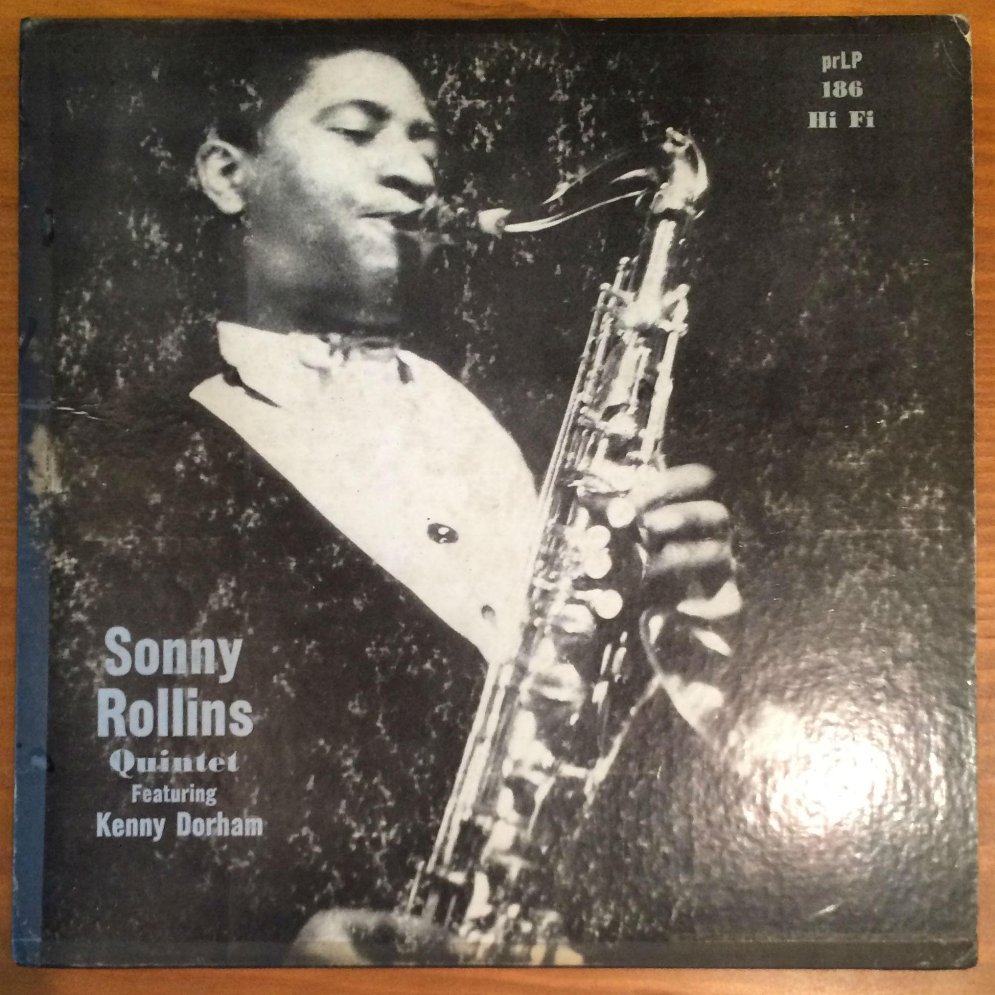 "●SONNY ROLLINS QUINTET feat. KENNY DORHAM (10"")"