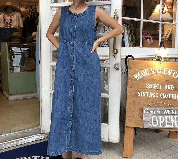 LLBEAN DENIM DRESS TP-256
