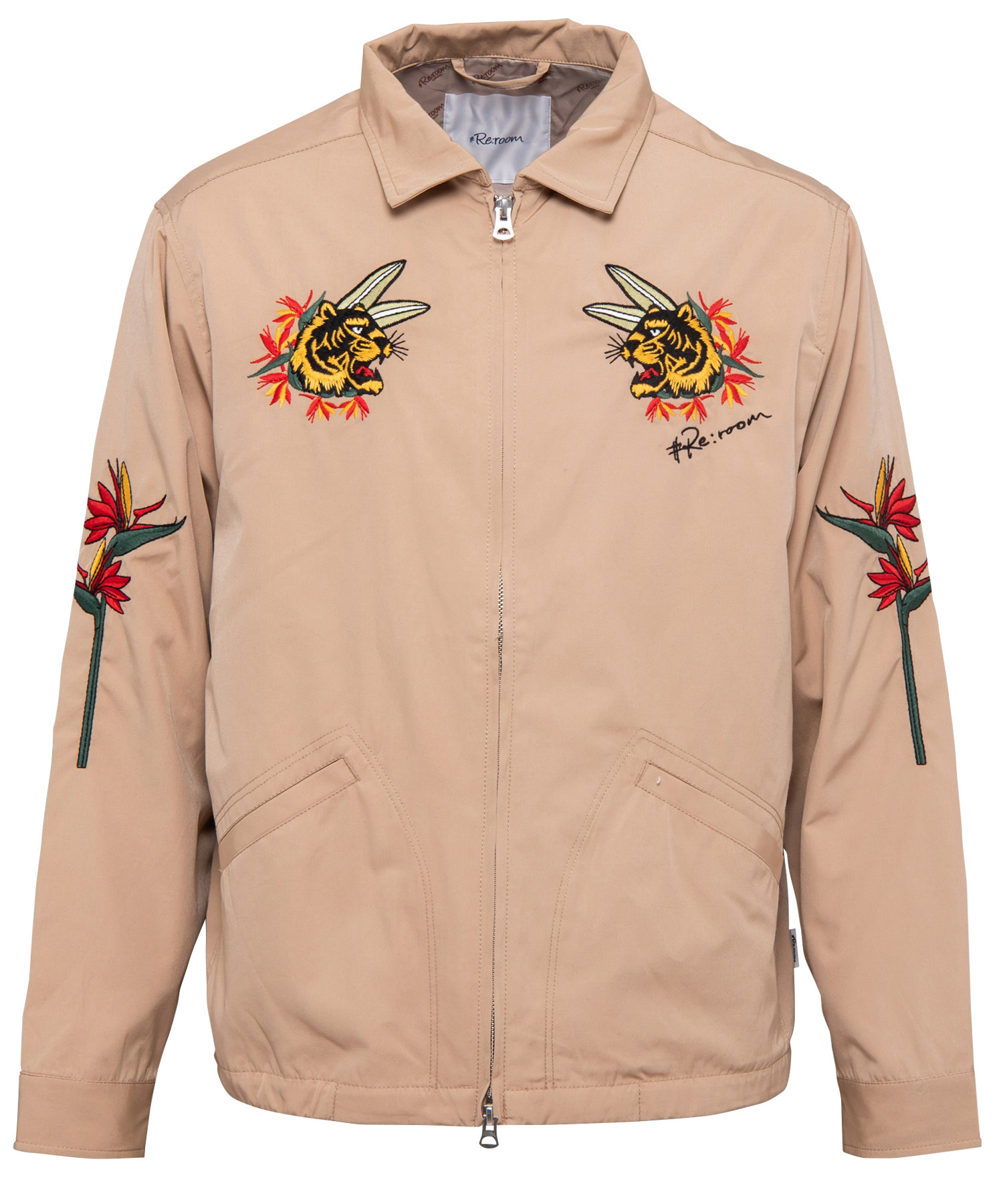 #RE:ROOM TIGER EMBROIDERY JACKET[REJ032]