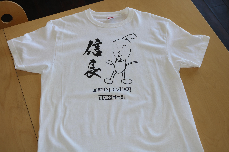 信長Tシャツ       design by TAKESHI