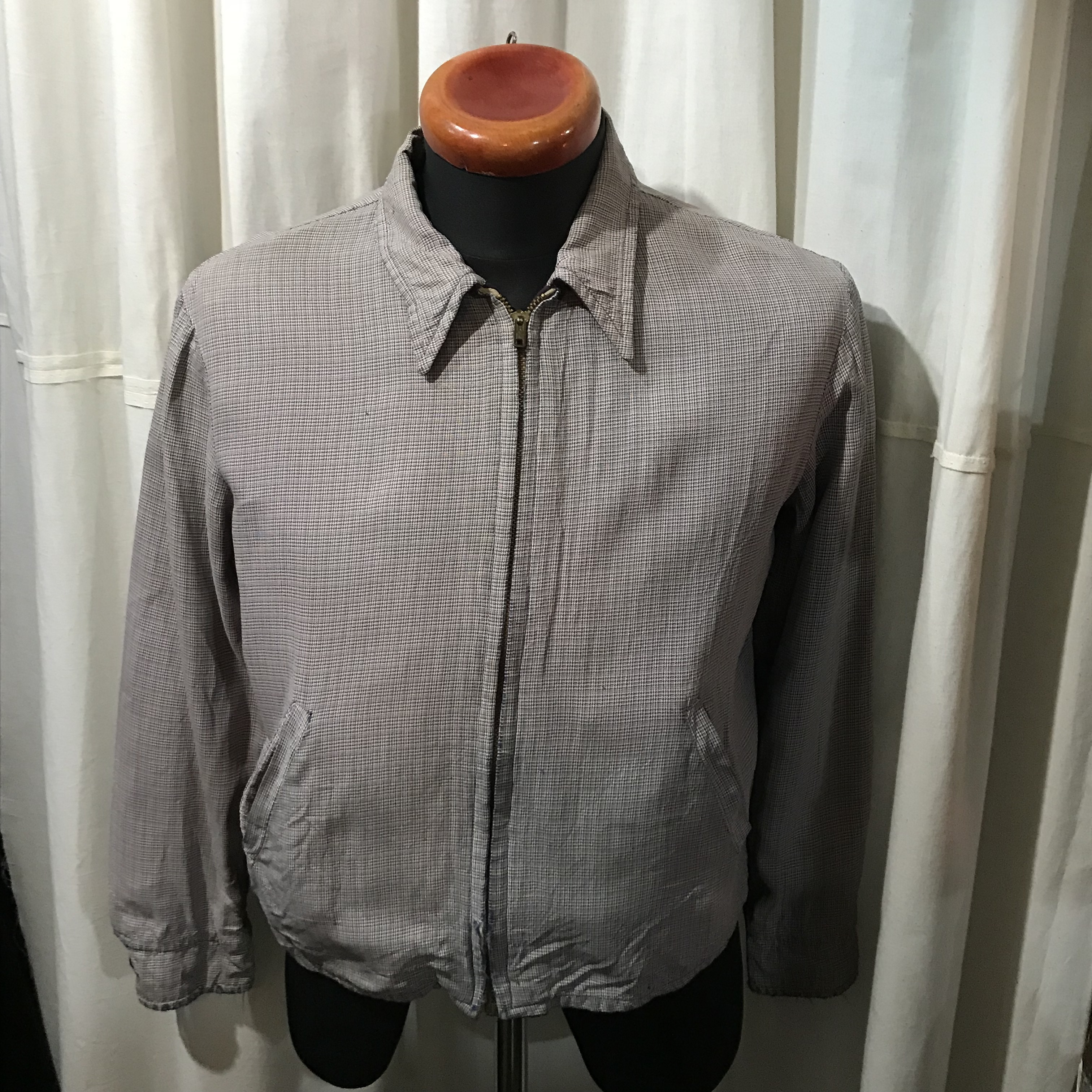 50's~70's vintage NORTH COUNTRY リバーシブルスイングトップジャケット メンズS~M