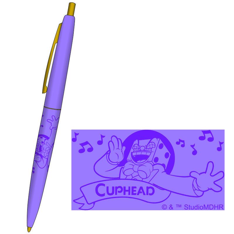 CUPHEAD ( カップヘッド ) BICボールペン ③パープル / エンスカイ