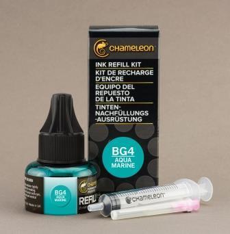 Chameleon Pen Ink Refill 25ml Aqua Marine BG4 (カメレオンペン 詰替え用インク BG4)