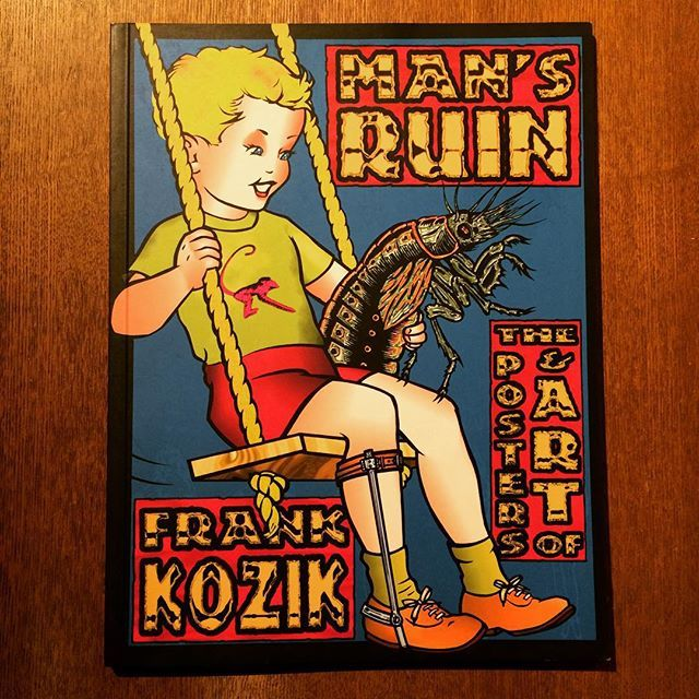 画集「Man's Ruin: The Posters & Art of Frank Kozik」 - 画像1