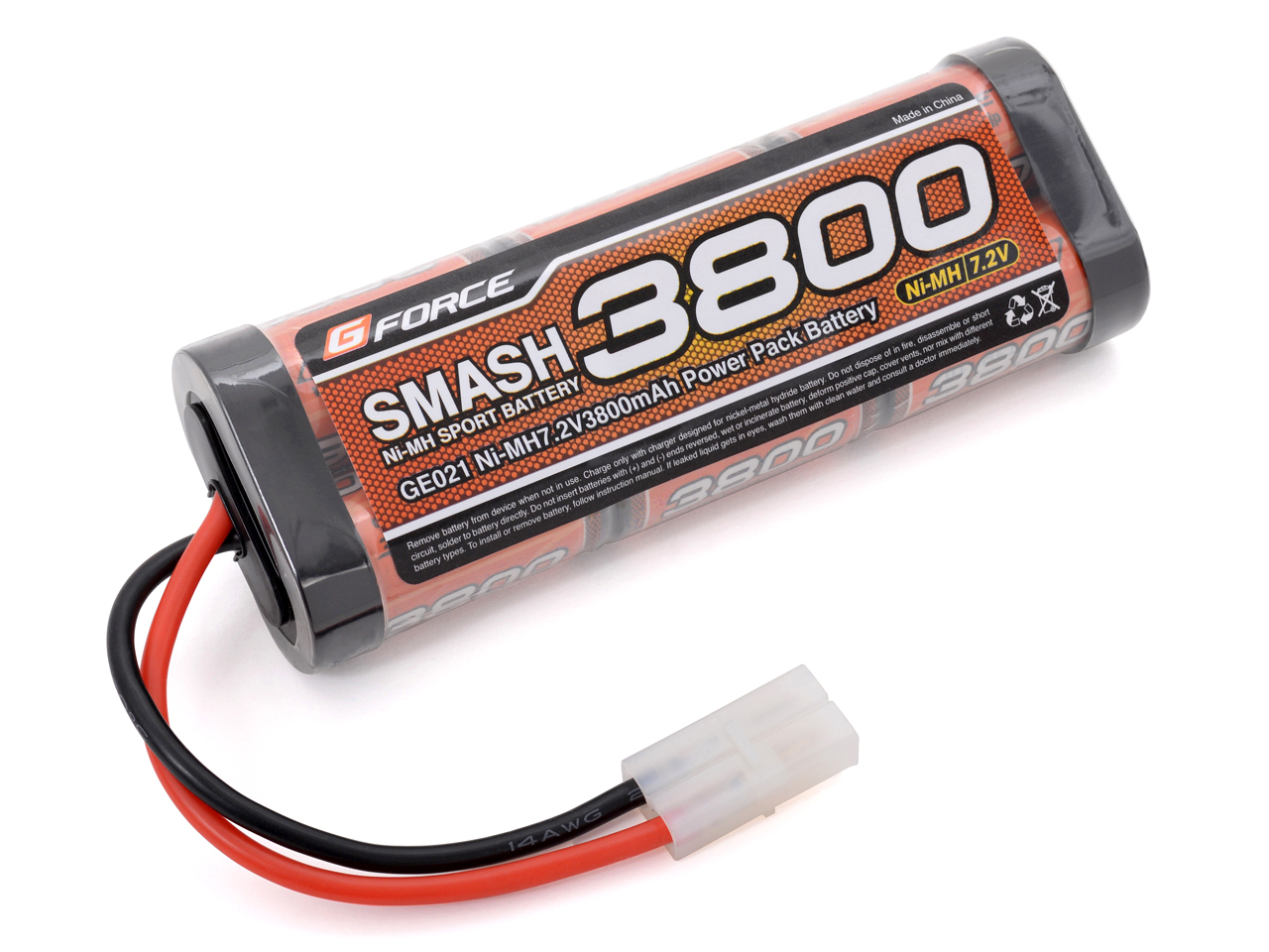 Gフォース ニッケル水素バッテリー SMASH NiMH 7.2V 3800mAh