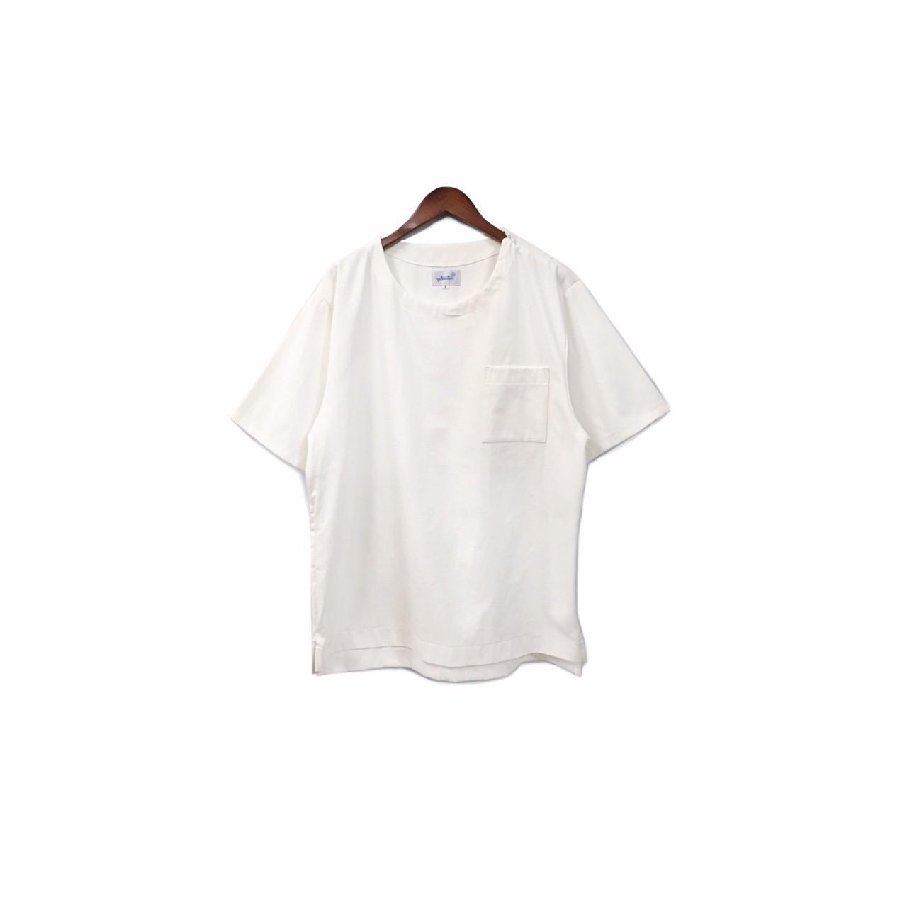 yotsuba - Shortsleeve Denim Tops / White ¥13000+tax