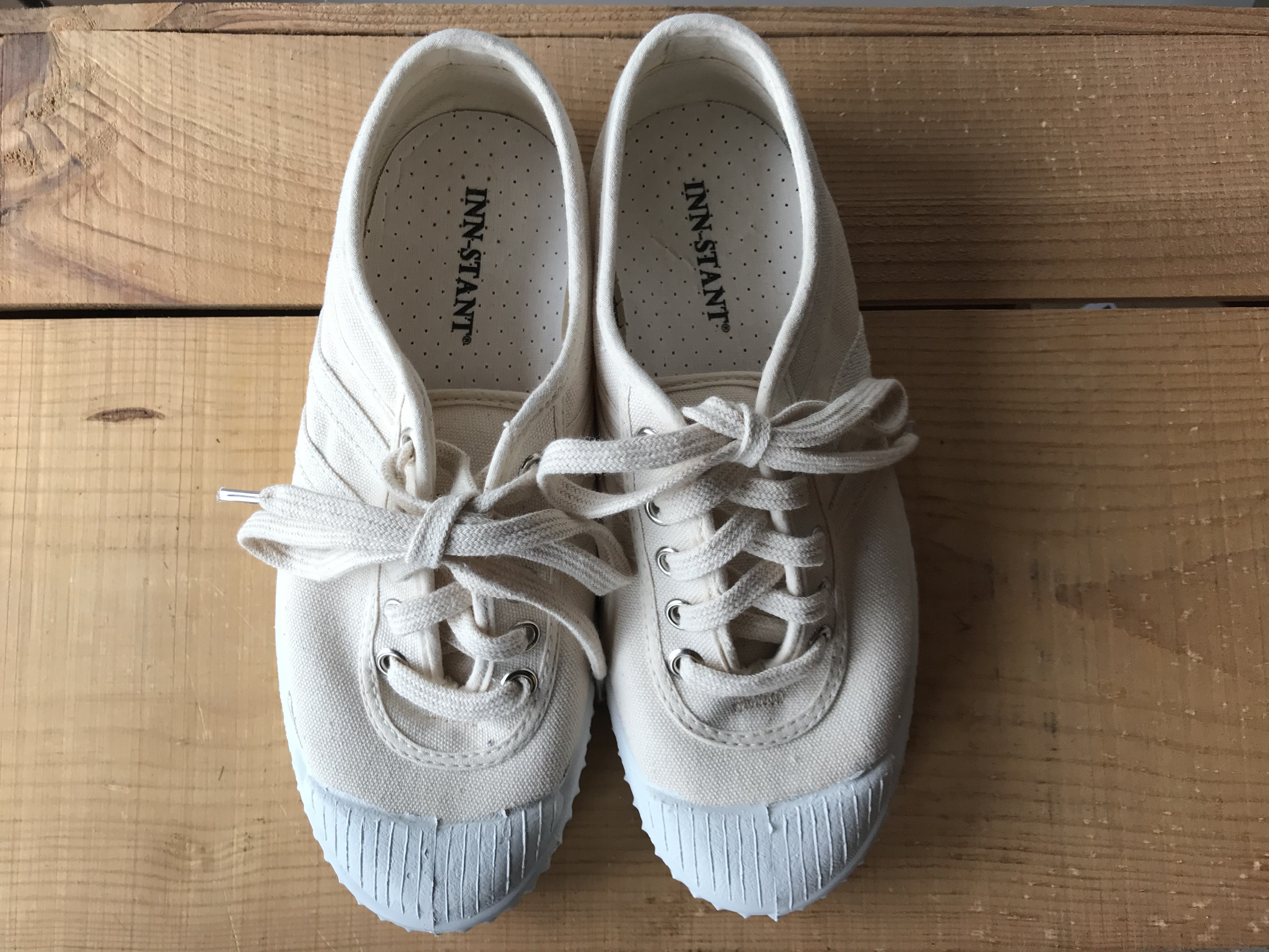 INN-STANT CANVAS SHOES-NEO Natural / Natural (white sole)