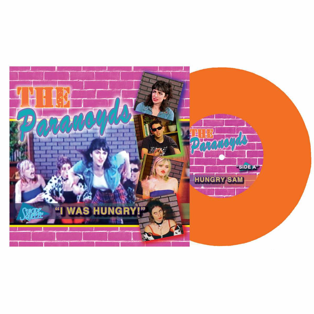 The Paranoyds / Hungry Sam(650 Ltd 7inch)