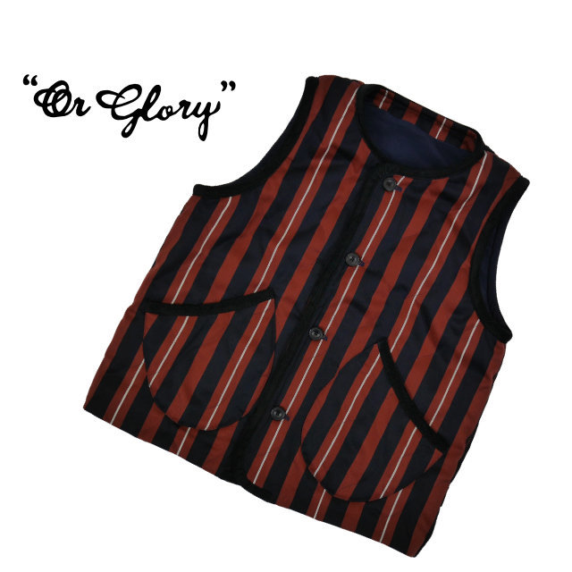 School Quilt Vest 【OR GLORY】