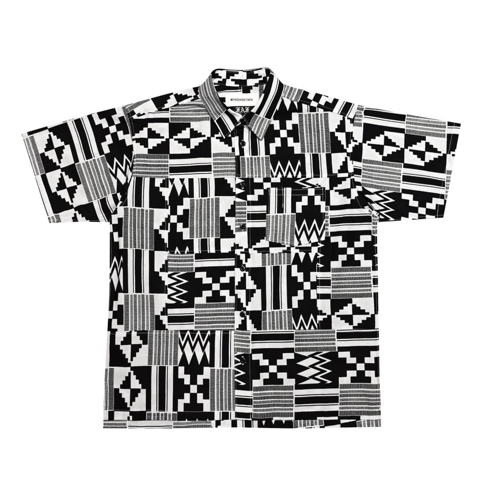 Kente shirts - (MIYAGIHIDETAKA Collaboration) - 画像1