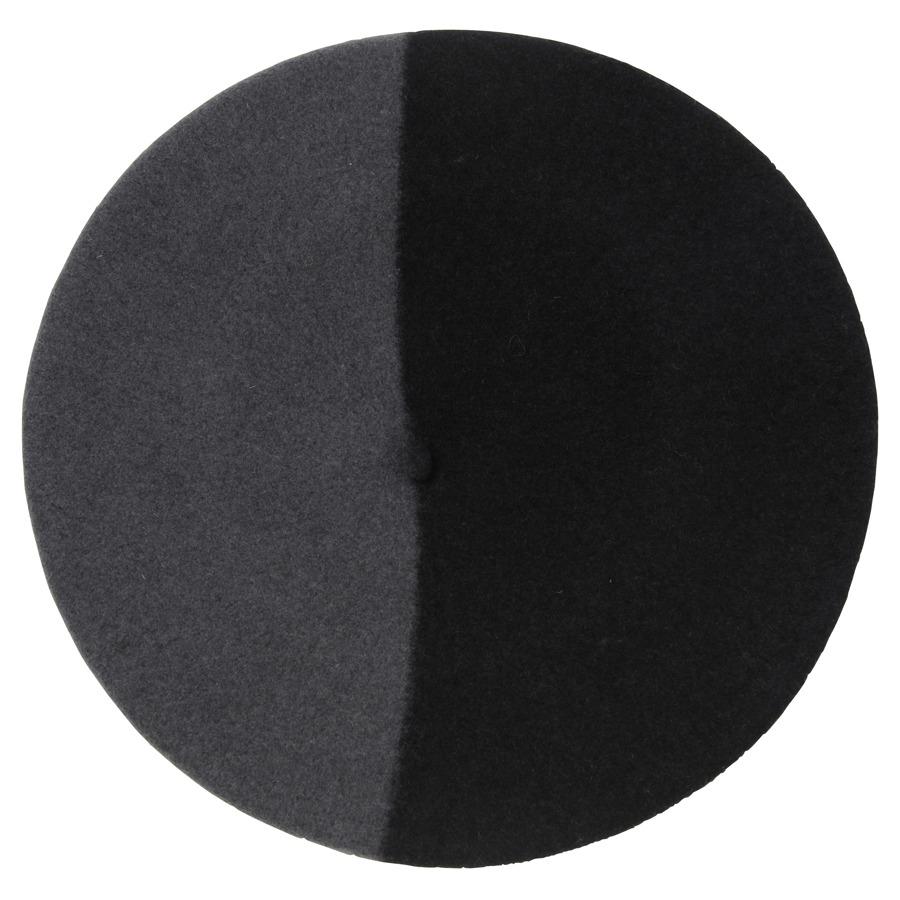 バスク帽 BLACK/GRAY(サイズ12 / 13.5) TDB-07