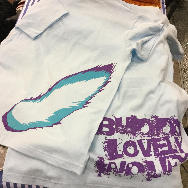 狼尻尾2.0 Buddy Tシャツ きのーらカラー