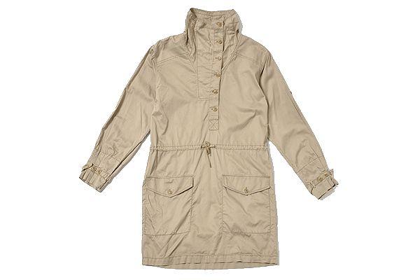 Ralph Lauren SPORT size2 onepiececoat/ラルフローレンスポーツ ワンピースコート ベージュ -ladys