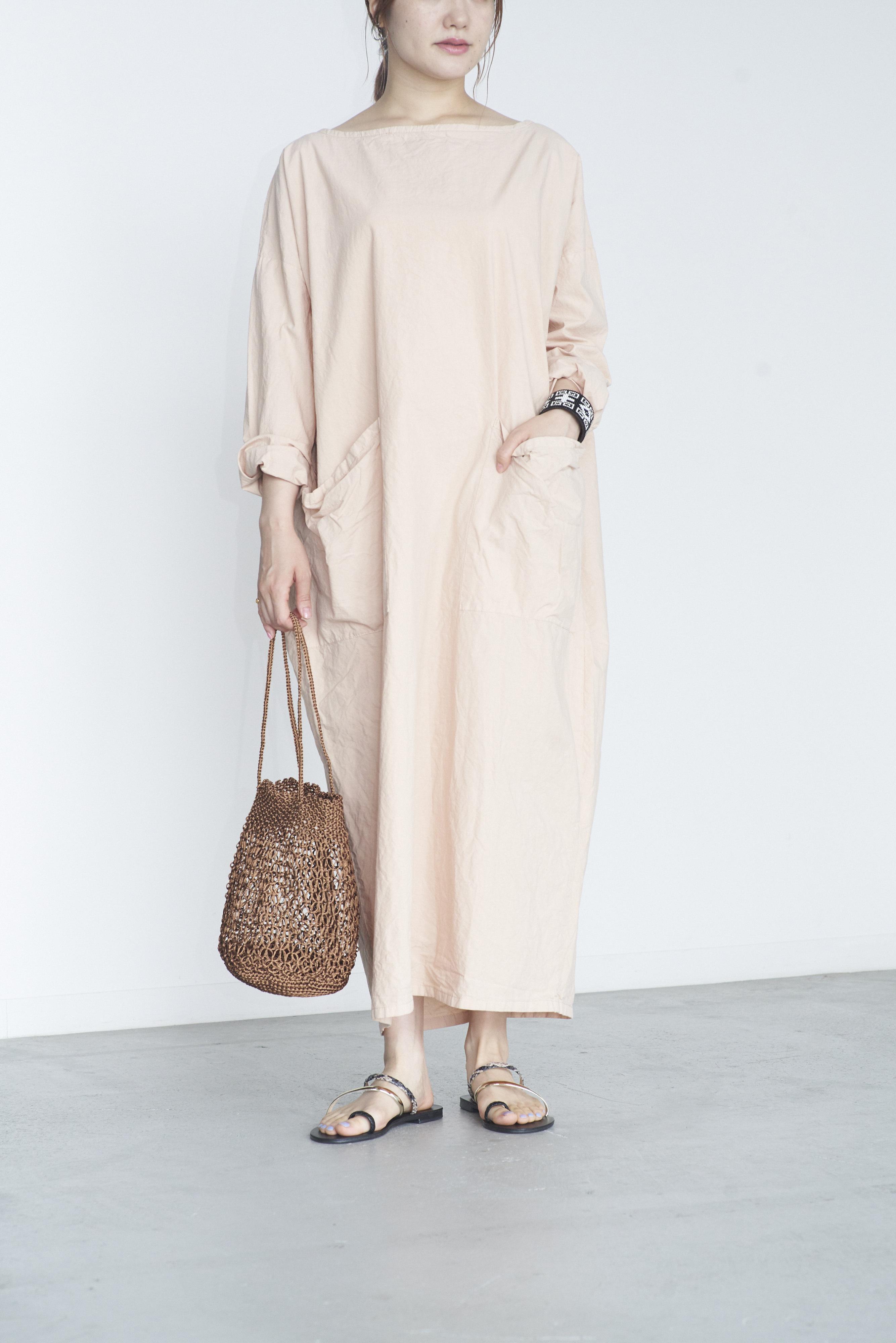 Yarmo Cocoon Smock Dress