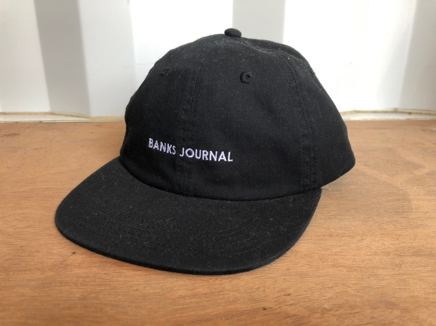 BANKS JOURNAL CAP (black)
