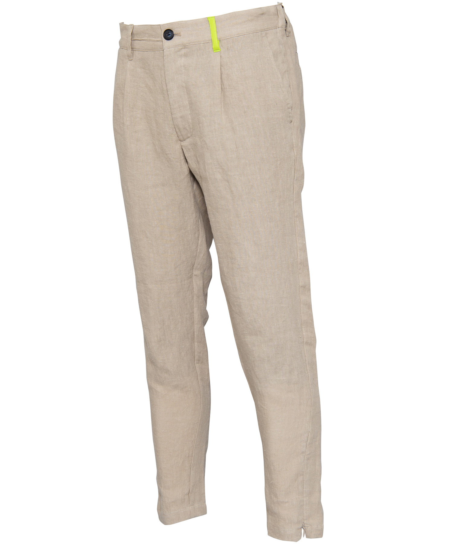 LINEN SLIM SLACKS[RUP002]