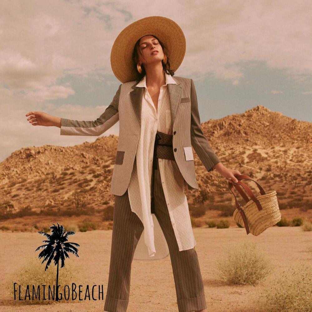 【FlamingoBeach】designers summer bag カゴバック 小
