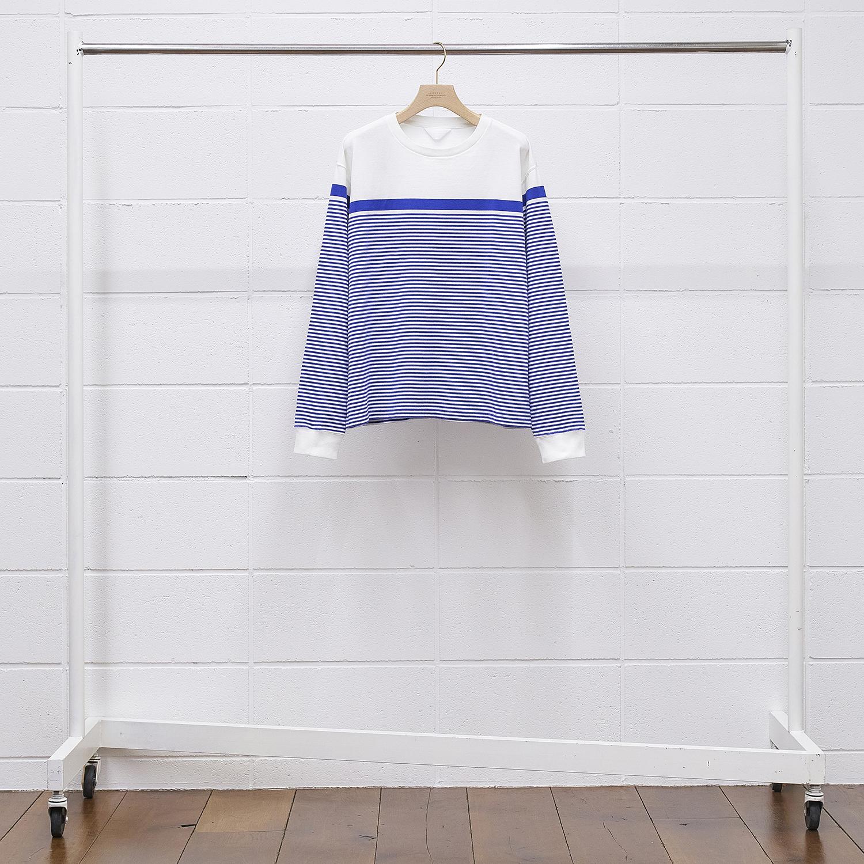 UNUSED BODER LONG SLEEVE US1905 color 201/white/blue size 1
