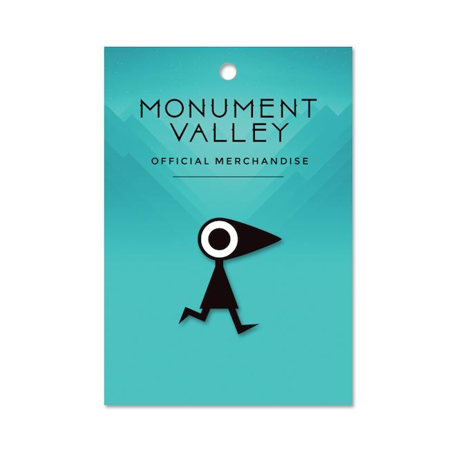 【Monument Valley(モニュメント・バレー) 】カラス・ピンズ - 画像2